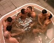 Gay Gangbang in der Sauna