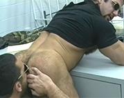 Perverse schwule Polizisten