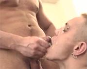 Muskulöse Männer lieben Sperma
