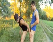 Schwule Kerle ficken Outdoor