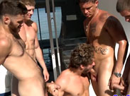 Geile Gay Party am Strand
