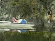 Schwulensex auf dem Tretboot