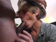 Schwule Bauarbeiter beim Sex beobachtet