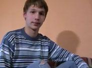 18 Jähriger wichst vor der Webcam