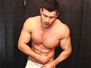 Muskulöser Gay macht dich geil