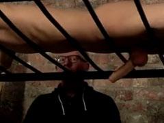 Gaysklave wird geil entsaftet