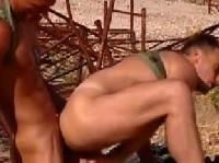 Schwule Soldaten ficken brutal
