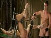Ultra harter Bondage Gaysex